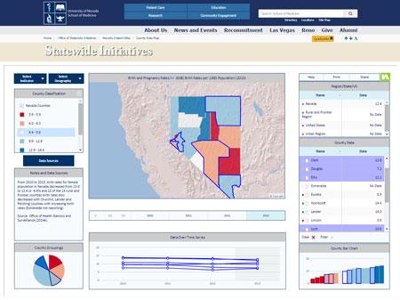 Nevada-InstantAtlas-County-Data-Map